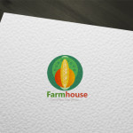 Green Farm Nature Logo for Sale