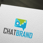 Buy Chat, Talk Vector Logo Design
