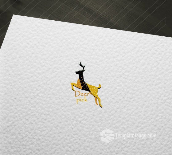 Forest Deer Logo for Sale
