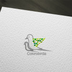 Colourful Bird Logo for sale