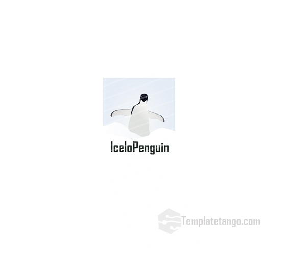 Ice Penguin Logo