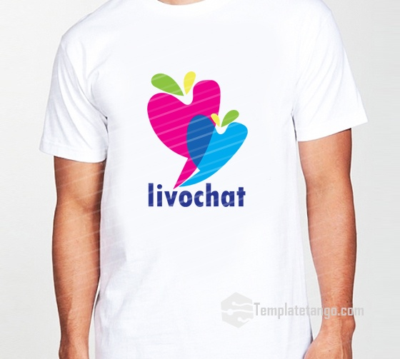 Love Chat Symbol Logo