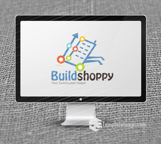 Construction Shopping Logo