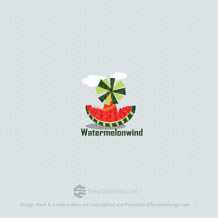 Watermelon Windmill Logo