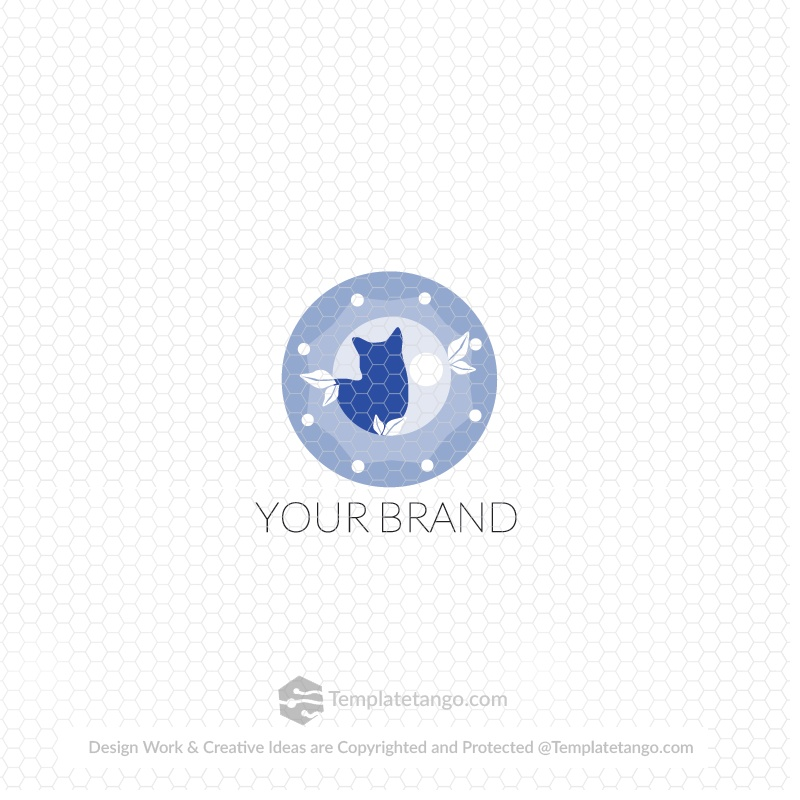Cat Illustration Logo