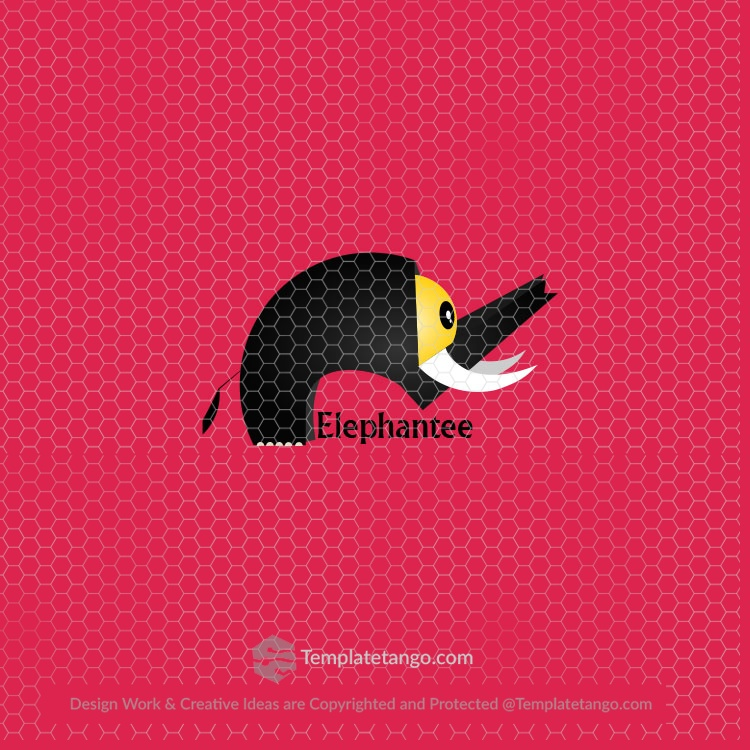 Elephant Abstract Logo