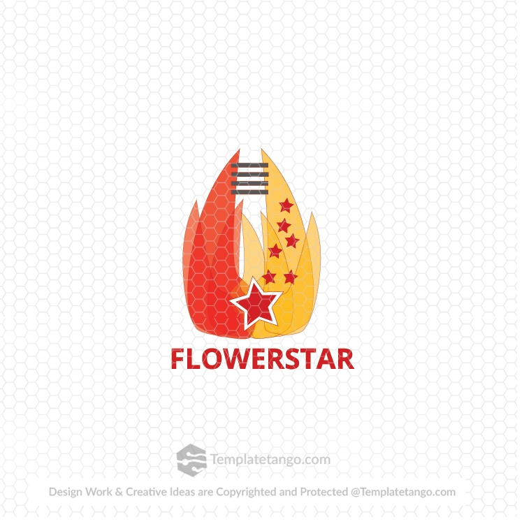 Flower Brand Logo for Sale