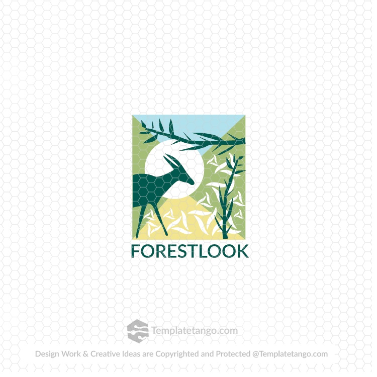 Forest Deer Logo