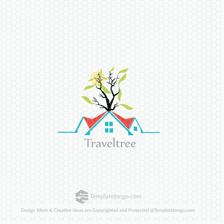 Travel Resort Hotel Logo