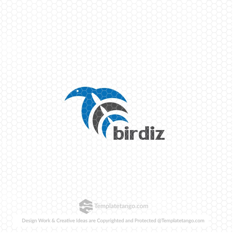Stock Logo Bird