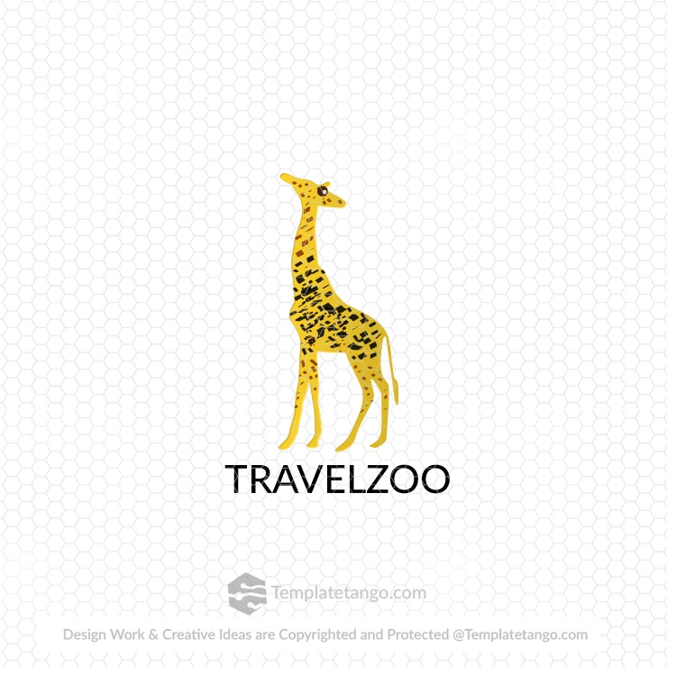 Travel Zoo Animal Logo
