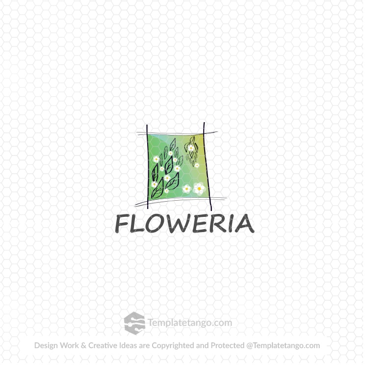 Buy Flower Shop Logo