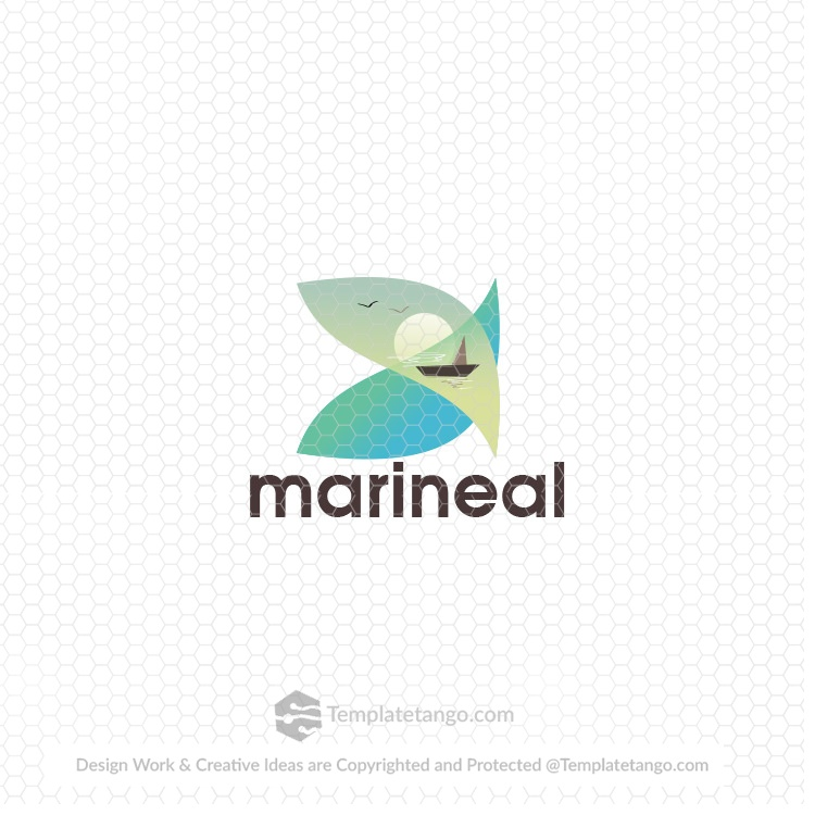 marine business logo