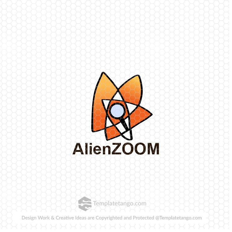 Alien logo design