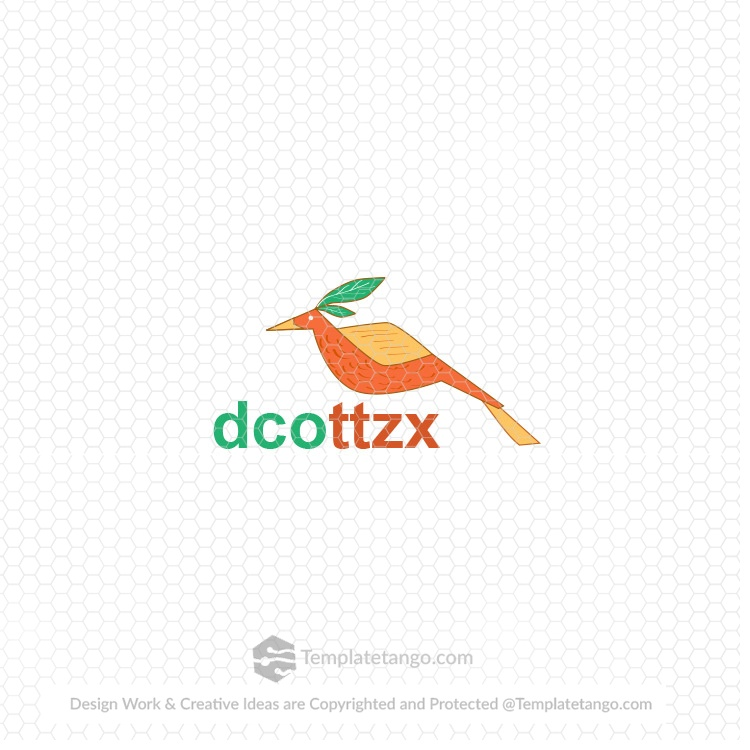 Vector Bird Logo for Sale