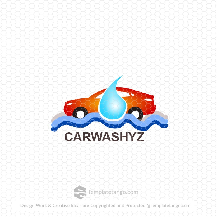 Car Wash Auto Logo