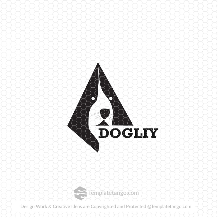 dog-face-pet-care-logo
