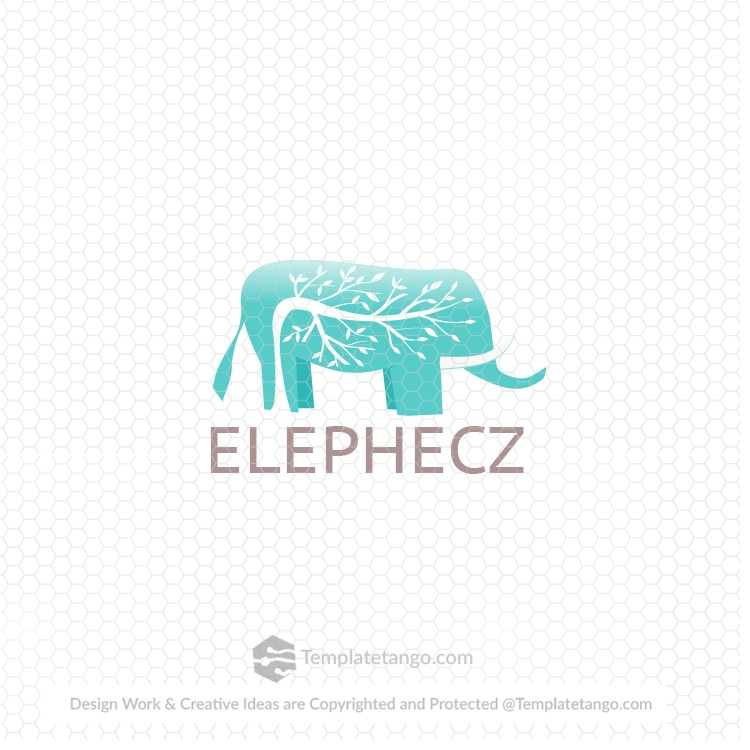 Elephant Pet Care Logo