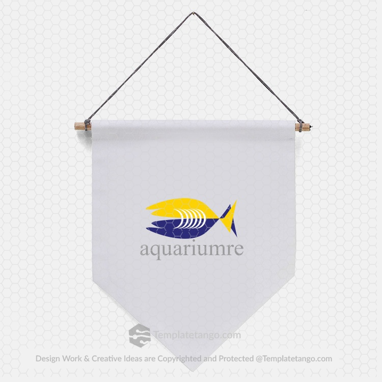 aquarium-logo-design-wall-logo