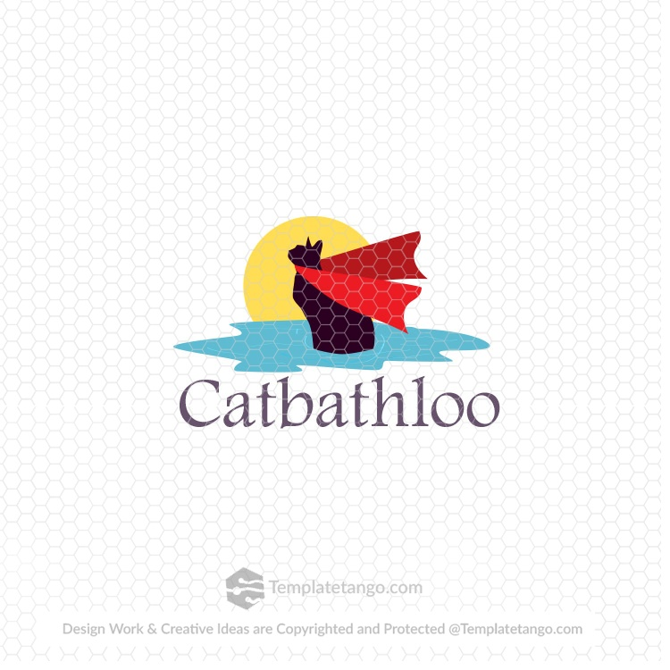 cat-bath-pet-animal-logo-design