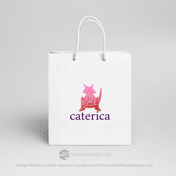 cat-logo-design-paper-bag