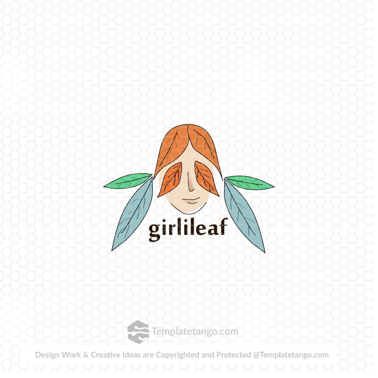 girl-face-leaf-logo