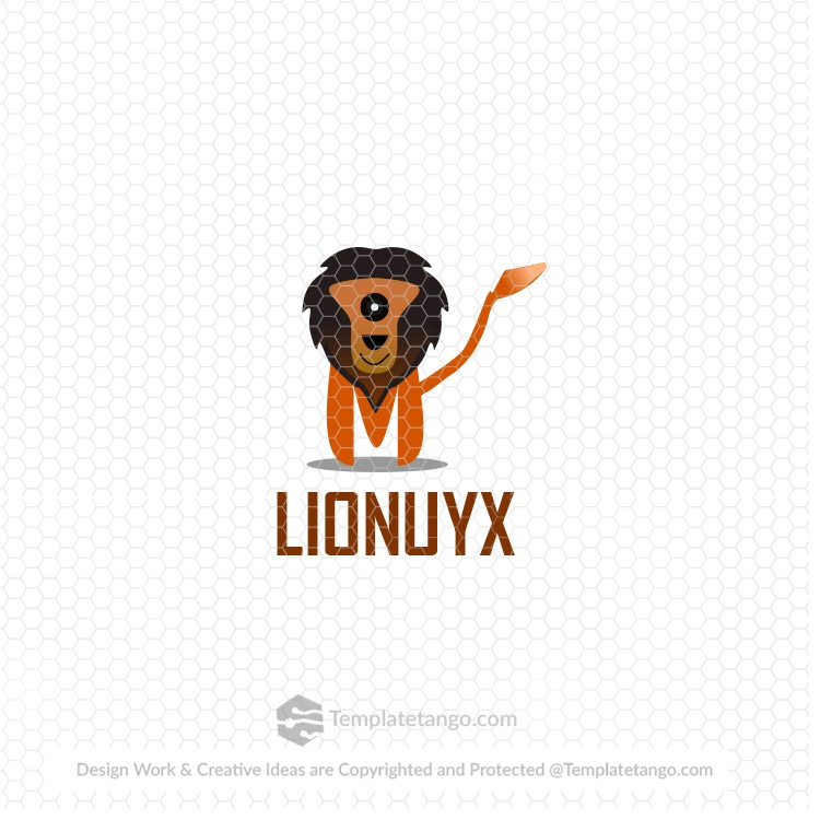 lion-animal-pet-logo-design