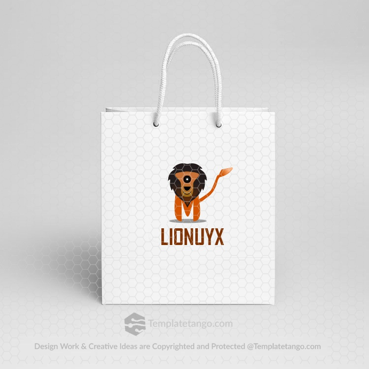 lion-logo-paper-bag