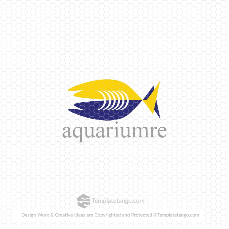 upcoming-aquarium-logo-design