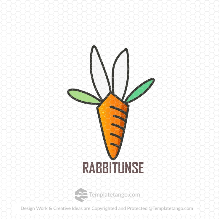 Rabbit-vector-logo-design