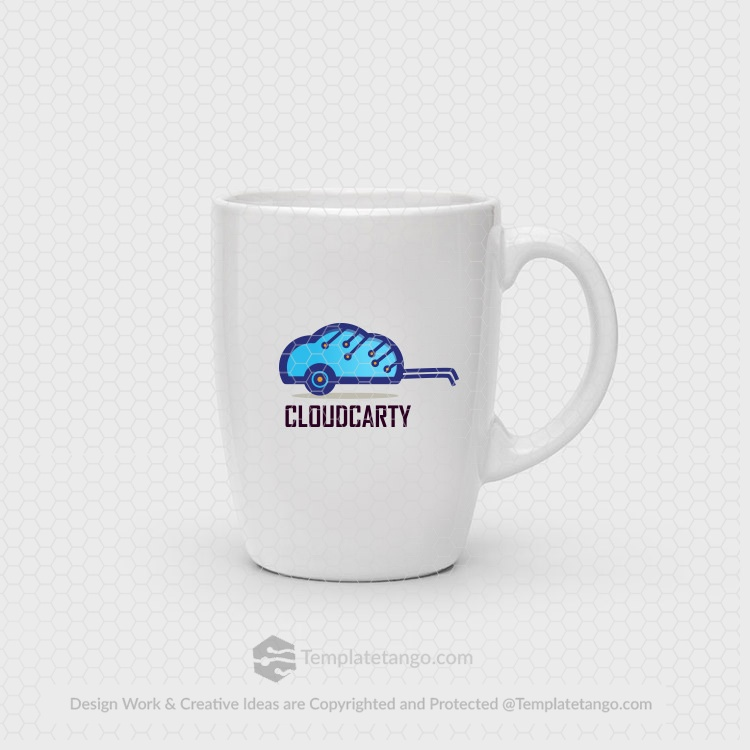 cloud-cart-logo-design