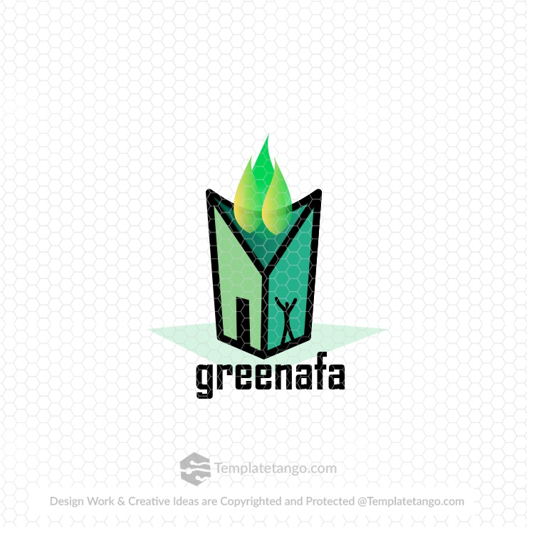 green-nature-life-man-logo-design