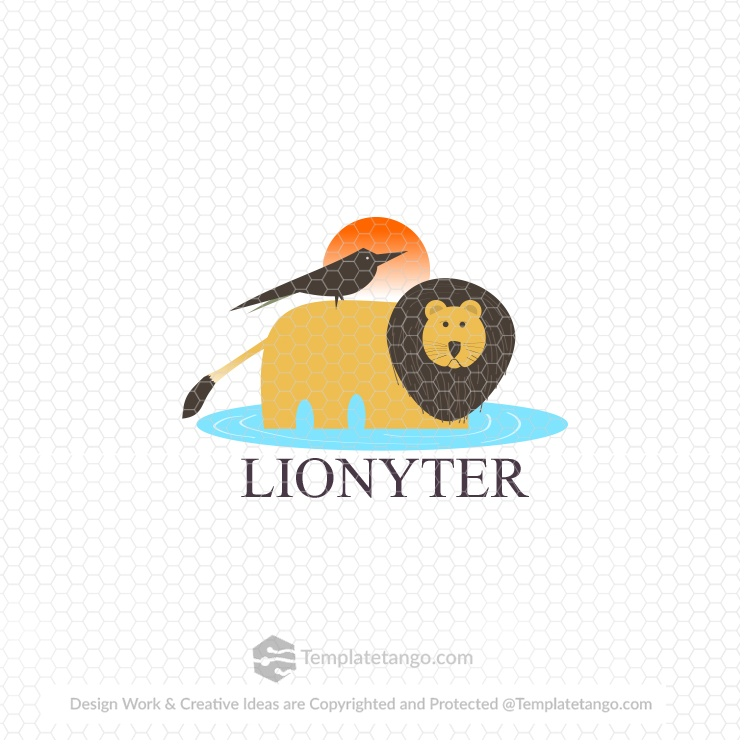 lion-bird-logo-design