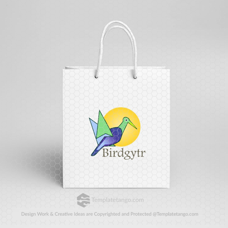 paper-bag-bird-logo-design