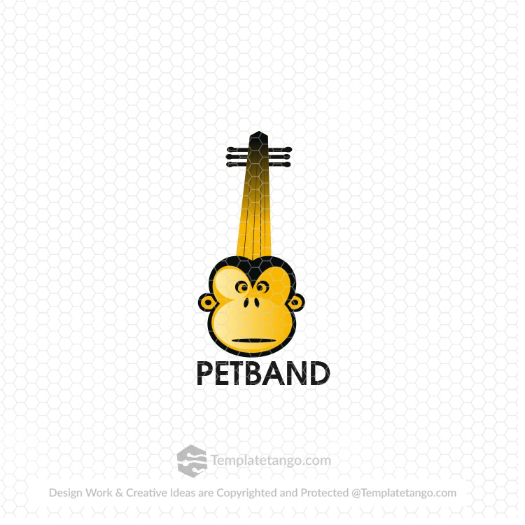 pet-band-music-logo-design