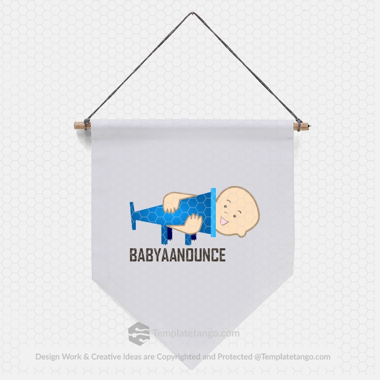 play-school-baby-logo-design-kid