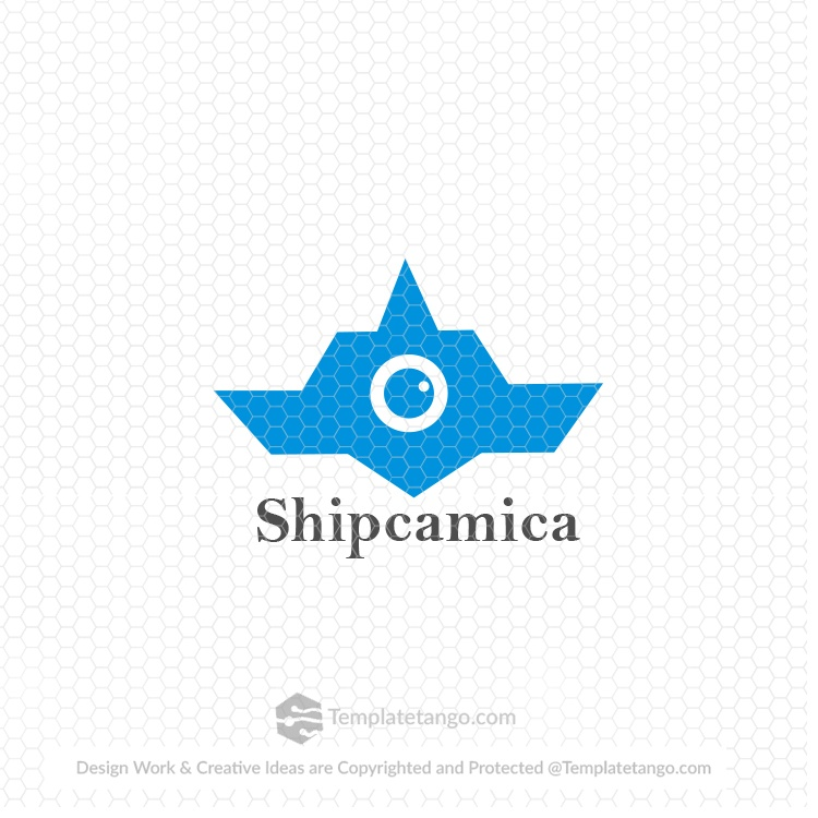 ship-boat-camera-photography-logo-design