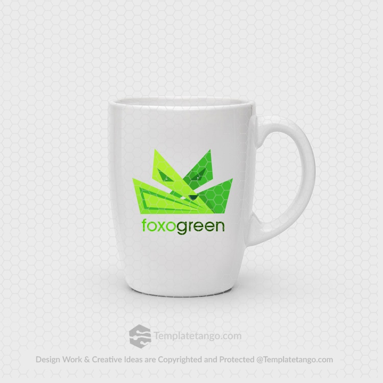 modern-green-fox-logo
