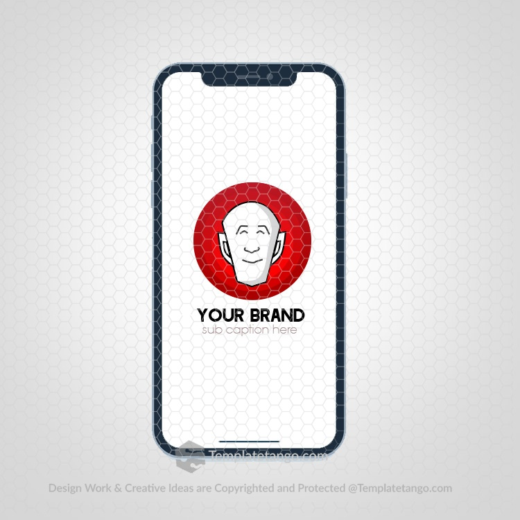 cartoon-app-logo-human-face-logo